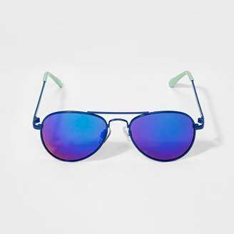 Cat & Jack Boys' Aviator Sunglasses - Cat & JackTM Blue