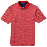 Bobby Jones Golf Dot Stripe Short-Sleeve Polo Shirt