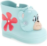 Mini Melissa + Jeremy Scott 'Monkey' Water Resistant Boot (Walker & Toddler)