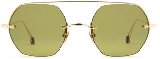 AHLEM Place Casadesus Champagne Sunglasses