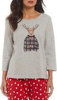 Sleep Sense Deer in Sweater Sleep Top