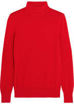 Givenchy Turtleneck Sweater In Red Wool - x small
