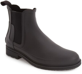 Hunter Original Refined Waterproof Chelsea Boot