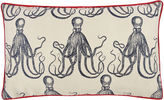 Thomas Paul Octopus Jacquard 12x20 Pillow, Ink
