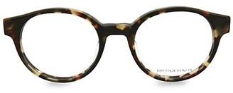 Bottega Veneta Core 49MM Round Optical Glasses