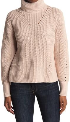 360 Cashmere Drea Cotton Cable Knit Sweater