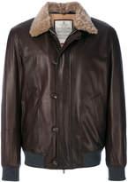 Brunello Cucinelli aviator jacket