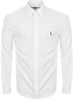 Ralph Lauren Oxford Knit Shirt White