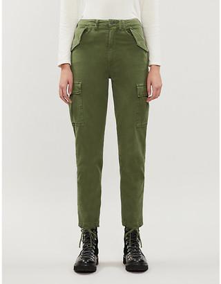 Boyish The Kai tapered stretch-cotton cargo trousers