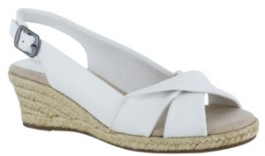 Easy Street Shoes Maureen Espadrille Slingback Sandals Women's Shoes