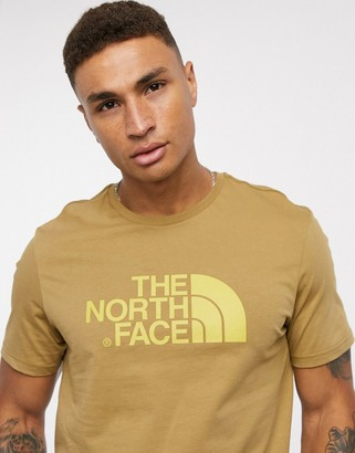The North Face Easy t-shirt in brown