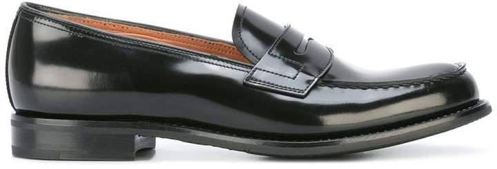 Church's patent penny loafers