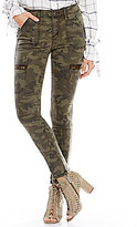 Gianni Bini Charlie Skinny Cargo Pant with Zippers