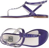 Love Moschino Toe strap sandals