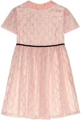 Gucci Children's GG organza dress