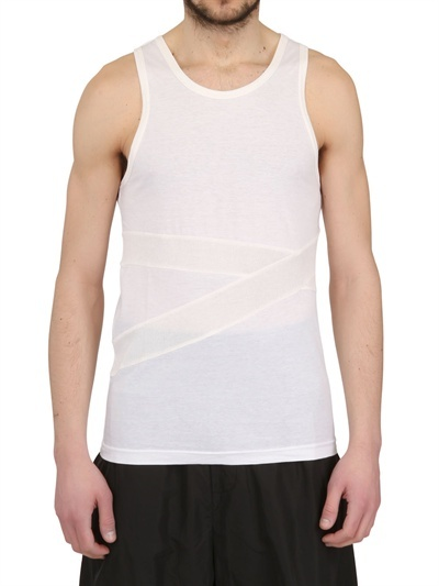 adidas Cotton Jersey Banded Tank Top