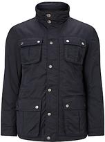 John Lewis Technical Nylon Four Pocket 2 In 1 Jacket, Navy
