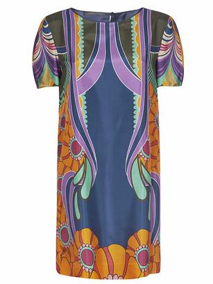 Alberta Ferretti Classic Printed Dress