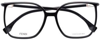 Fendi Eyewear Oversized-Frame Glasses