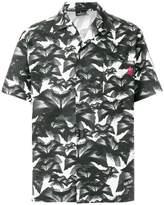 Marcelo Burlon County of Milan floral half sleeve shirt