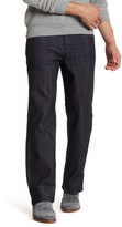 "Perry Ellis 3D Crease Straight Leg Jean - 30-34"" Inseam"
