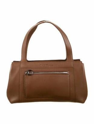 Salvatore Ferragamo Leather Shoulder Bag Brown