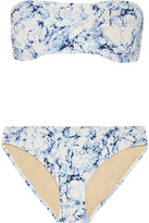 Tart Collections Charlotte printed bandeau bikini