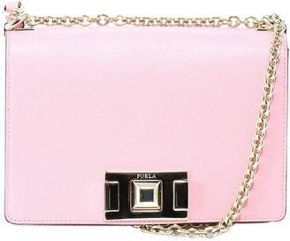 Furla Stud Lock Shoulder Bag