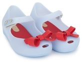 Mini Melissa Blue Peep Toe Jelly Mary-Janes