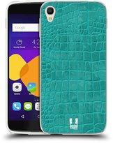 Head Case Designs Crocodile Skin Pattern Soft Gel Back Case Cover for