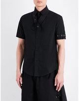 Eyelet collar shirts shopstyle uk for Mens eyelet collar dress shirts