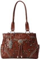 American West Lady Lace Multi Compartment Shoulder Bag