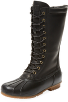 Australia Luxe Collective Women's Havea Tall Leather & Rubber Boot