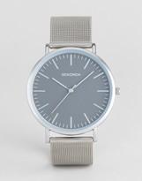Sekonda Silver Mesh Watch With Grey Dial Exclusive To Asos
