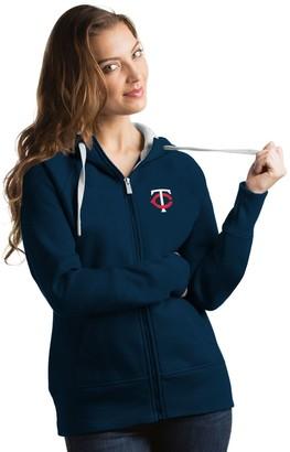 Antigua Women's Minnesota Twins Victory Full-Zip Hoodie