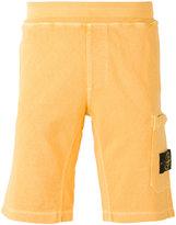 Stone Island patch pocket track shorts - men - Cotton - S