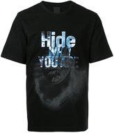 Juun.J 'hide' patch T-shirt - men - Cotton - 46