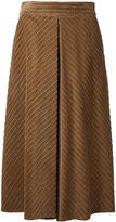 Muveil cable corduroy culottes - women - Cotton - 38
