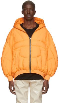 CHEN PENG Orange Down Double Layer Jacket