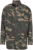 Yeezy oversized camouflage parka - unisex - Cotton/Spandex/Elastane - S