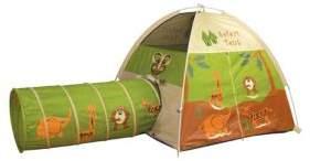 Pacific Play Tents Jungle Safari Tent & Tunnel Combo