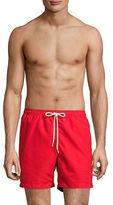Black Brown 1826 Volleyball Beach Shorts