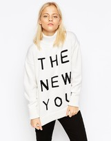 Wood Wood Amy Slogan Sweater