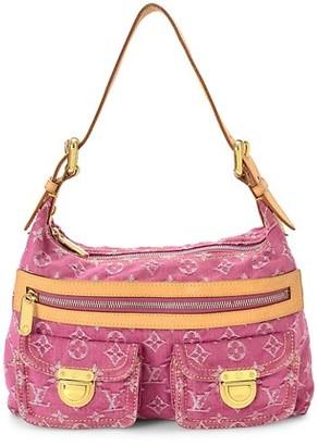Vintage Louis Vuitton Baggy PM Monogram Denim Shoulder Bag