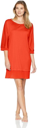 Hanro Women's Ayana 3/4 Sleeve Gown
