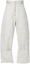Isabel Marant Eugenie Oversized High Waisted Trousers