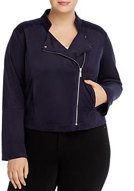 Lysse Plus Essential Faux-Suede Jacket