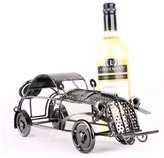 Ancaixin 1-Bottle Iron Classic Cars Shaped Table Wine Racks and Stands for Bottle Storage Wine Holder
