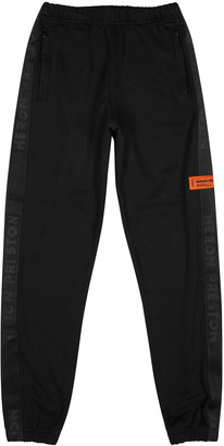 Heron Preston Black cotton sweatpants