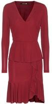 Roberto Cavalli Jersey Wrap Dress